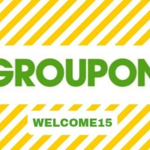 Save Up to 70 AED on First Groupon | Coupon Code: WELCOME15