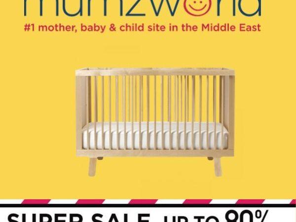 Mumzworld Super Sale-Up to 80% off