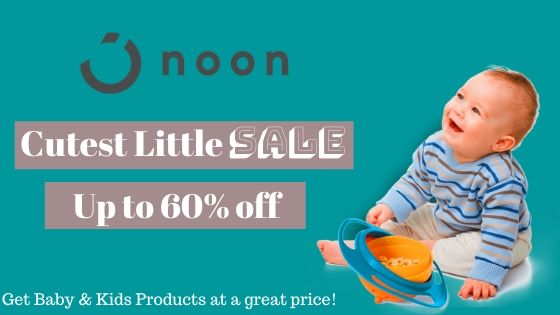 Cutest Little Sale at Noon |Up to 60% off on Baby Products