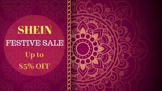 Shein Festive Sale Offer
